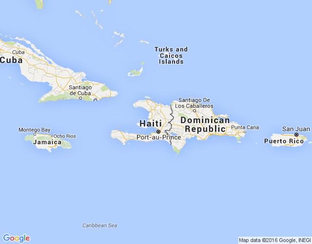 Haiti Karte.Haiti Karte Pilsētas