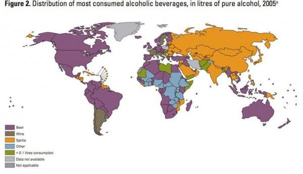 Populārākie alkohola veidi